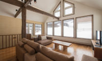 Moiwa Chalet Living Area with TV | Moiwa