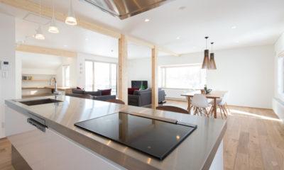 Yuzuki Modular Kitchen | Lower Hirafu