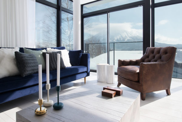 Loft Niseko Mountain View from Living Area | Middle Hirafu