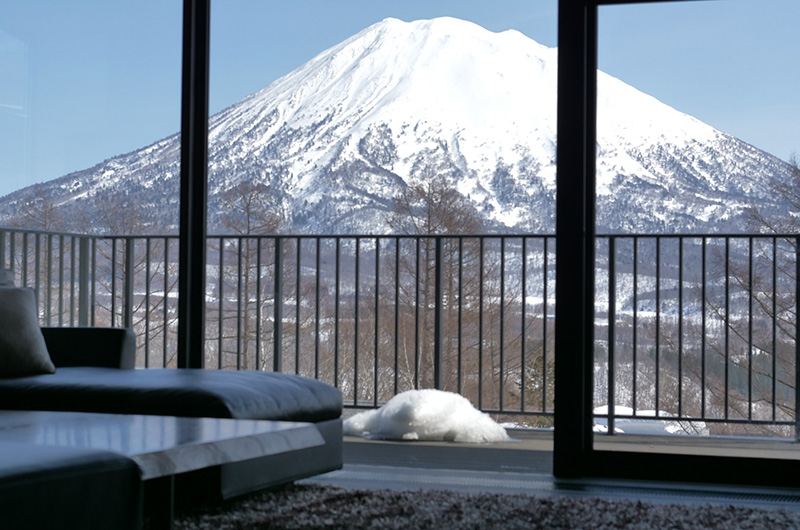 Muse Niseko Mountain View from Balcony | Middle Hirafu