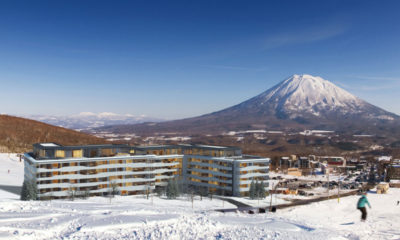 Skye Niseko Penthouse Outdoor Area with Mountain View | Upper Hirafu Village
