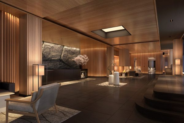 Skye Niseko Penthouse Reception Area | Upper Hirafu Village