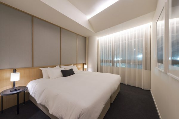 Skye Niseko Two Bedroom Suite Bedroom | Upper Hirafu Village
