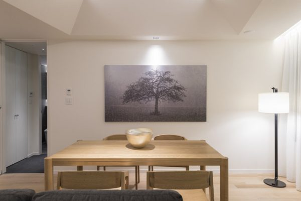 Skye Niseko Two Bedroom Suite Dining Area | Upper Hirafu Village