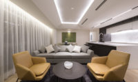Skye Niseko Three Bedroom Suite Lounge Area | Upper Hirafu Village