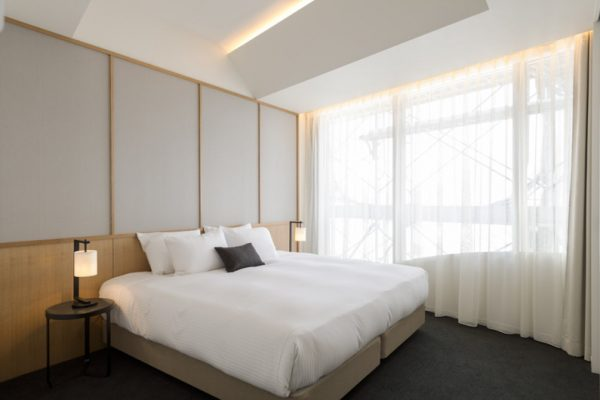 Skye Niseko Three Bedroom Suite Bedroom | Upper Hirafu Village