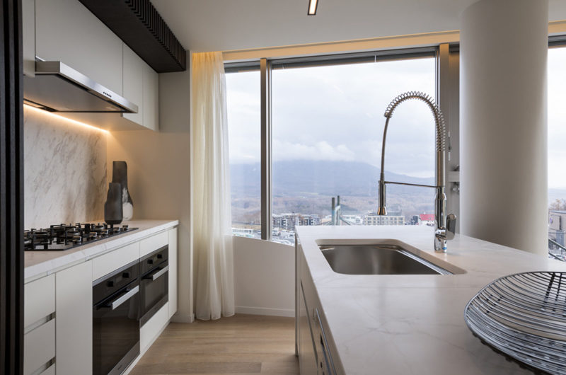 Skye Niseko Four Bedroom Suite Kitchen | Upper Hirafu Village