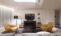 Skye Niseko Four Bedroom Suite Living Area with TV | Upper Hirafu Village