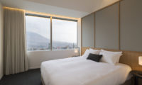Skye Niseko Four Bedroom Suite Bedroom with Carpet | Upper Hirafu Village