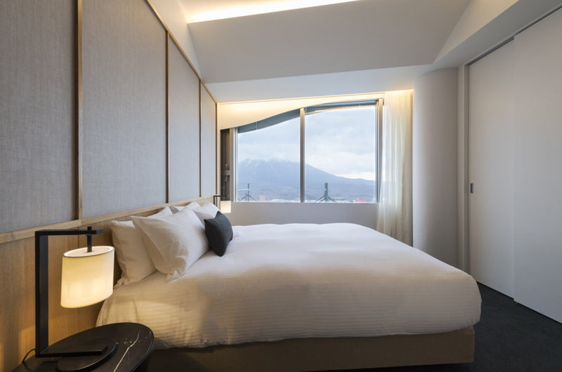 Skye Niseko Four Bedroom Suite Bedroom View | Upper Hirafu Village