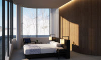 Skye Niseko Penthouse Bedroom with Carpet | Upper Hirafu Village