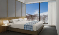 Skye Niseko Penthouse Bedroom with View | Upper Hirafu Village