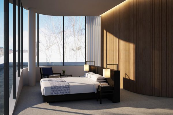 Skye Niseko Penthouse Bedroom View | Upper Hirafu Village