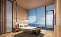 Skye Niseko Penthouse Bedroom with Mountain View | Upper Hirafu Village