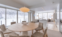 The Maples Niseko 05 Two Bedroom Ski Side Dining Area | Upper Hirafu
