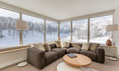 The Maples Niseko 06 Two Bedroom Ski Side Lounge Area | Upper Hirafu