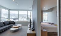 The Maples Niseko 09 Two Bedroom Village View Bedroom View | Upper Hirafu