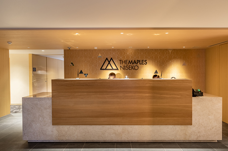 The Maples Niseko Reception | Upper Hirafu