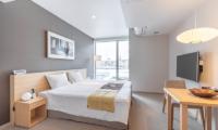 The Maples Niseko 25 Studio Room Resort King Bedroom | Upper Hirafu
