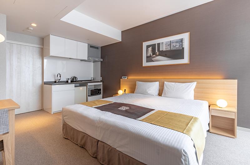The Maples Niseko 26 Studio Room Resort King Bedroom | Upper Hirafu