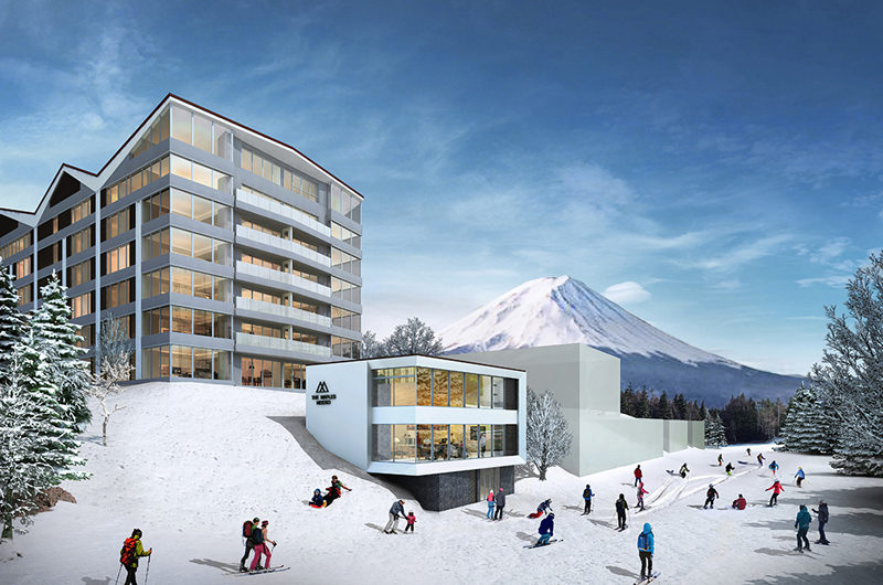 The Maples Niseko Outdoor Skiing   Upper Hirafu