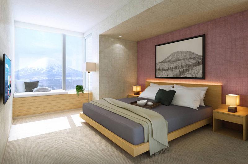 The Maples Niseko Bedroom with Mountain View   Upper Hirafu