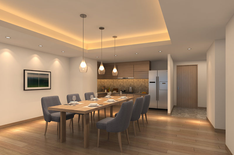 The Vale Rusutsu Kitchen and Dining Area | Rusutsu