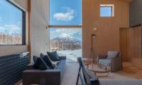 Foxwood Living Area with Mountain View | Higashiyama