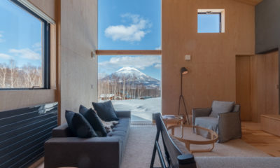 Foxwood Living Area with Mountain View | Higashiyama