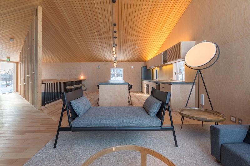 Foxwood Lounge Area with Wooden Floor | Higashiyama