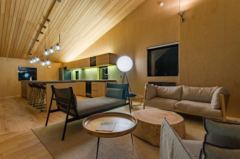Foxwood Living Area with Wooden Floor | Higashiyama