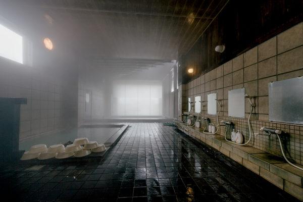 Niseko Goshiki Onsen Indoor Bath