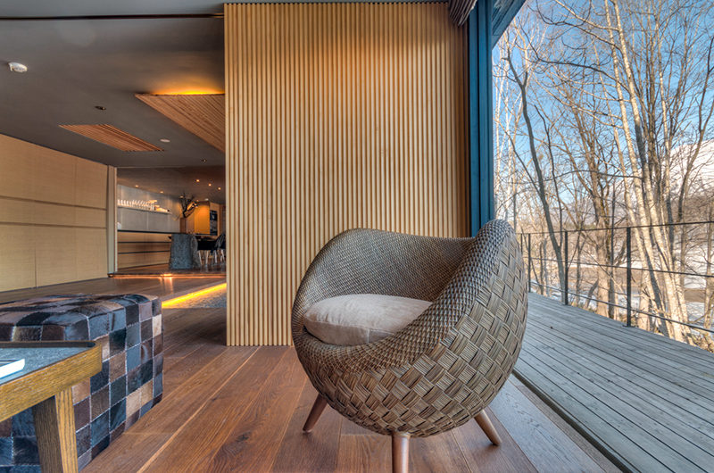 Hideaway on Escarpment Relaxing Chair | Lower Hirafu