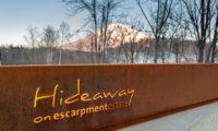 Hideaway on Escarpment Entrance | Lower Hirafu