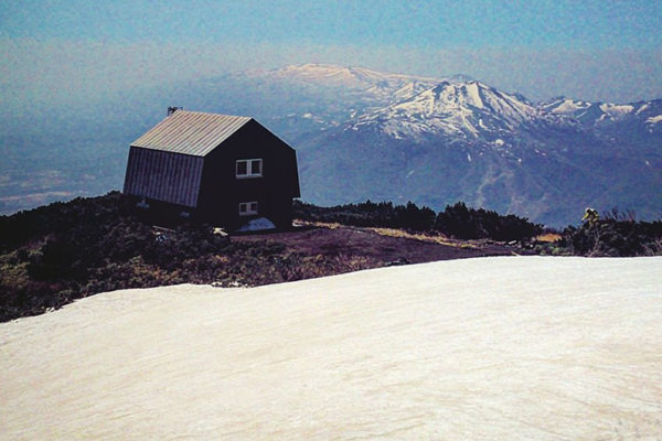 Yotei Hut in Spring