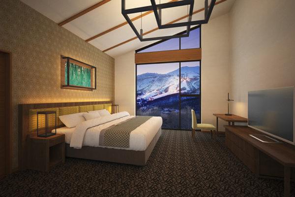 Panorama Niseko Bedroom | East Hirafu