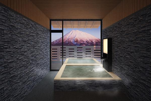 Panorama Niseko Indoor Onsen | East Hirafu