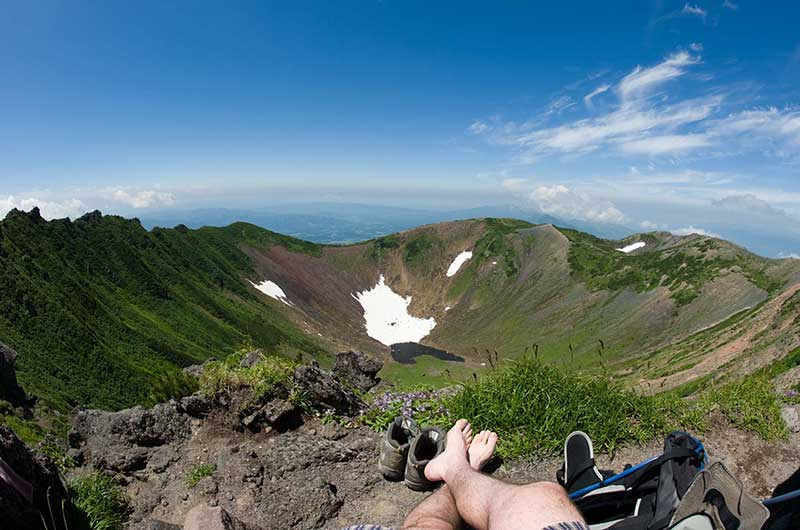 Boot Solutions Summer Hiking Yotei Crater