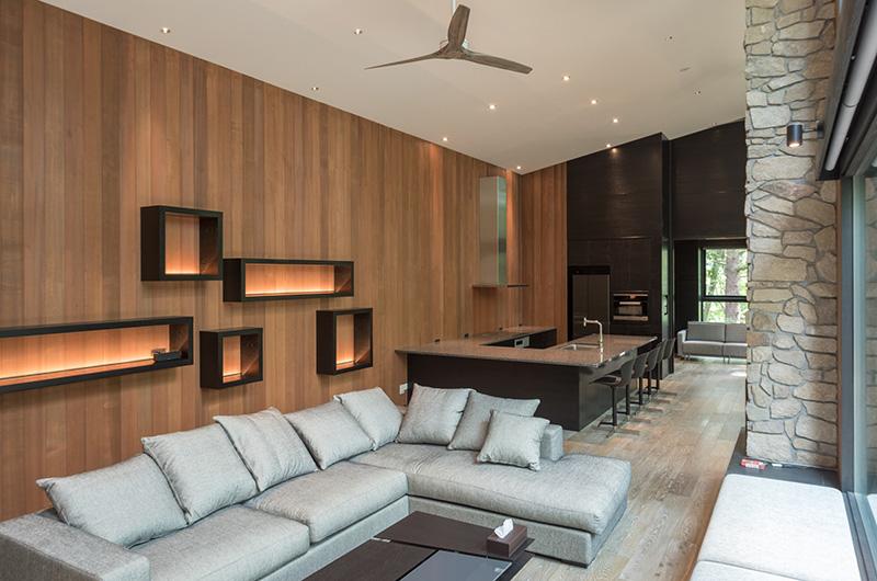 Villa El Cielo Living Area | Upper Wadano
