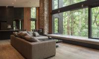 Villa El Cielo Living Area with View | Upper Wadano