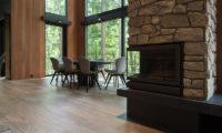 Villa El Cielo Dining Area near Fireplace | Upper Wadano