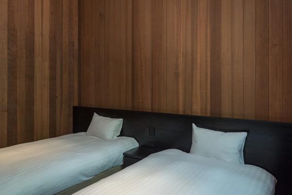 Villa El Cielo Twin Bedroom | Upper Wadano