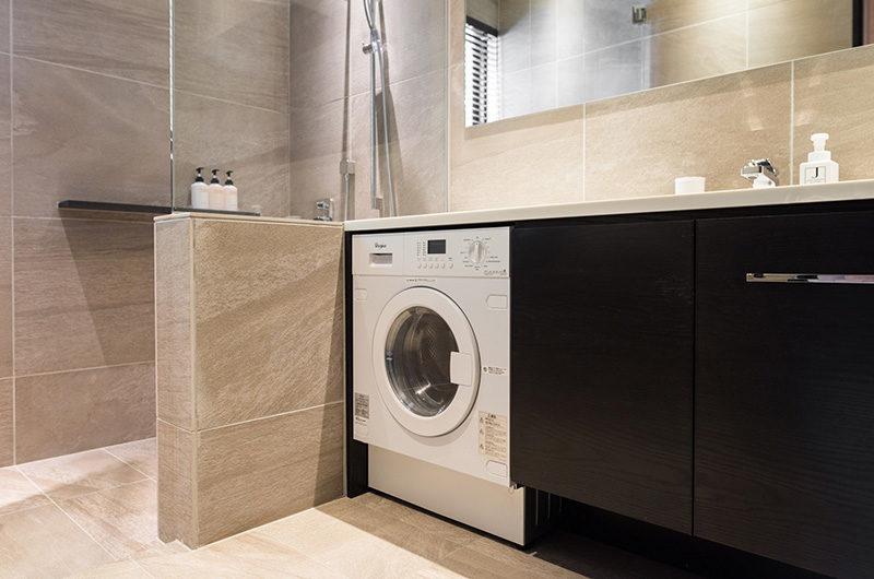 Villa El Cielo Bathroom with Laundry | Upper Wadano