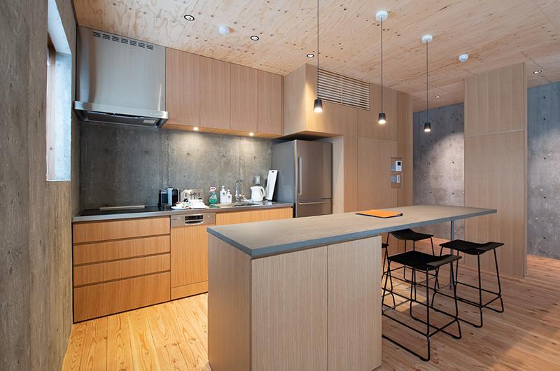 Puffin Kitchen Area | Lower Hirafu
