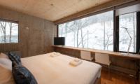 Puffin Bedroom with Wooden Floor | Lower Hirafu