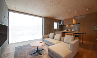 Puffin Living, Kitchen and Dining Area | Lower Hirafu