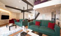 Kitsune House Living Area | Lower Hirafu