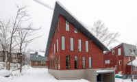 Kitsune House Exterior with Snow | Lower Hirafu