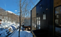 Casi 67 East Outdoor Area with Trees | Lower Hirafu