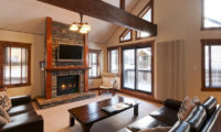 Ishi Couloir A Living Area with TV | East Hirafu